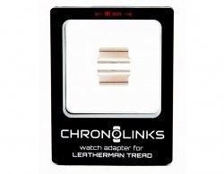 Adapter ChronoLinks 18 mm Silver do mocowania zegarka na multitoolu Leatherman Tread