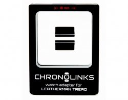 Adapter ChronoLinks 18 mm Black do mocowania zegarka na multitoolu Leatherman Tread