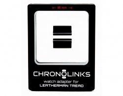 Adapter ChronoLinks 18 mm Black do mocowania zegarka na multitoolu Leatherman Tread