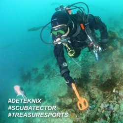 Podwodny wykrywacz metali Deteknix Scuba Tector