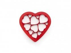 Forma do wykrawania ciastek PUZZLE HEARTS Lekue