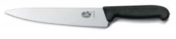 Nóż do mięsa Fibrox z ząbkowanym ostrzem 5.2033.22 22 cm.