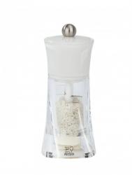 Molene Młynek do soli morskiej biały 14 cm PG-30391