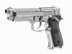 Pistolet wiatrówka Beretta M92 FS inox 6 mm