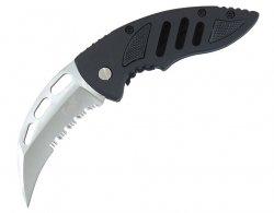 Nóż składany MFH Fox Karambit Serrated (45731)