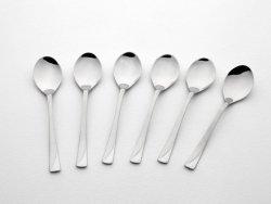 Gerlach Valor - komplet łyżeczek do kawy 6 szt. dla 6 osób, wysoki połysk