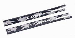 Ramiona do łuku Poe Lang Cobra czarne z nadrukiem 2 szt.