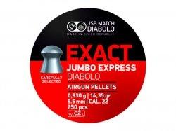 Śrut Diabolo JSB JUMBO EXACT EXPRESS 5,52mm1op=250