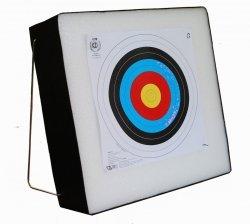 Mata łucznicza 60x60x20 cm piankowa + stelaż + tarcza