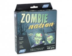 Tarcze ASG Zombie pakiet - 100szt. (18168)