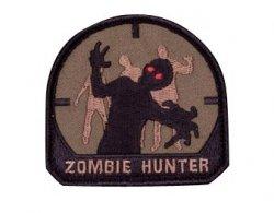 Naszywka Zombie Hunter Forest Green