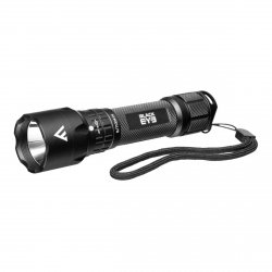 Ładowalna latarka Black Eye, 420 lm