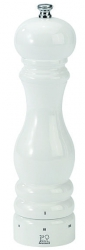 Paris Młynek do soli biały połysk 12 cm PG-27797