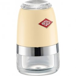 Młynek sól/pieprz beżowy 10cm Wesco
