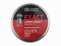 Śrut JSB Exact Jumbo Heavy 5,52 250szt.