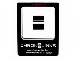 Adapter ChronoLinks 26 mm Black do mocowania zegarka na multitoolu Leatherman Tread