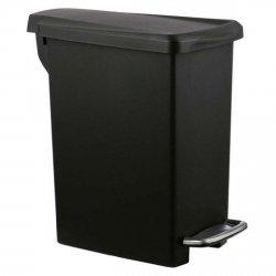 Kosz na śmieci 10L pedałowy SLIM - czarny simplehuman