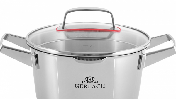Gerlach Superior - garnki zestaw 10el