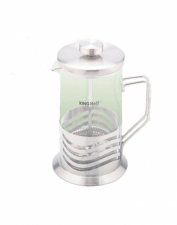 Kinghoff Zaparzacz Do Kawy/Herbaty Z Dociskiem 350ml Kh-4833