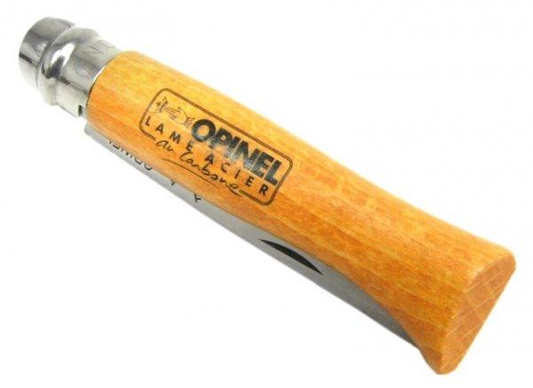 Nóż Opinel 7 carbon buk
