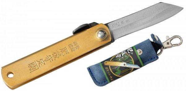 Nóż kieszonkowy Aogami Higonokami Pocket Size Blue 55 mm