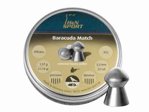 Śrut diabolo H&N Baracuda Match 5,51 mm 200 szt.