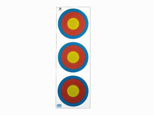 Tarcza papierowa 3x20 cm 6 ringów