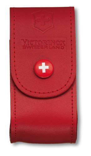 Etui skórzane czerwone 4.0521.1 - Victorinox - 5-8 warstw