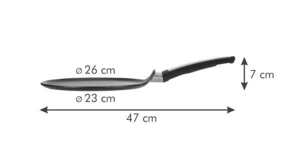 Patelnia do naleśników i-PREMIUM ø 26 cm Tescoma