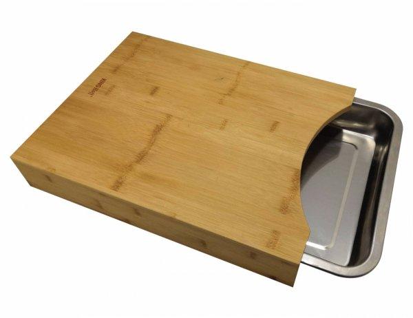 Deska do krojenia z wysuwaną tacką Kinghoff KH-1370