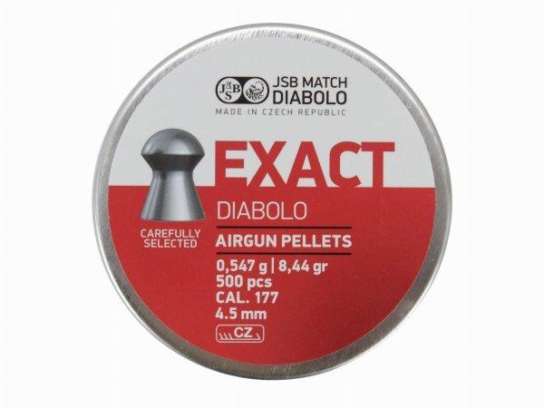Śrut Diabolo JSB EXACT 4,50 mm 1op=500szt.