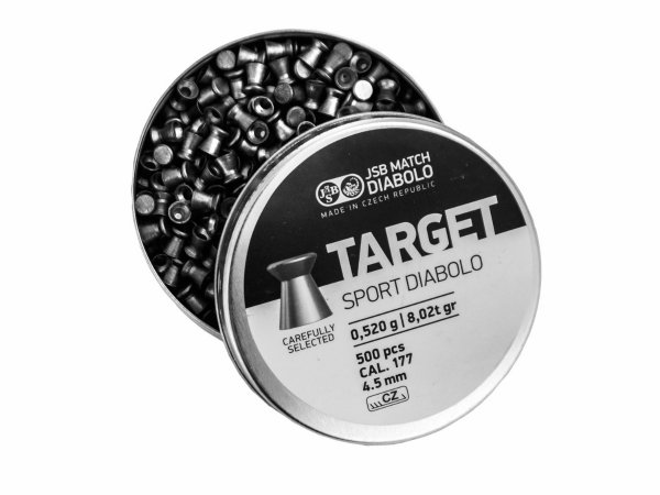 Śrut Diabolo JSB Exact Target Sport 4.50 mm 500 s