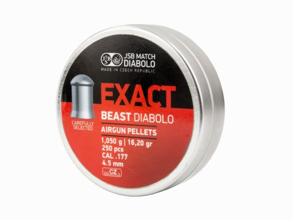Śrut Diabolo JSB Exact Beast 4,52 mm 250 szt.