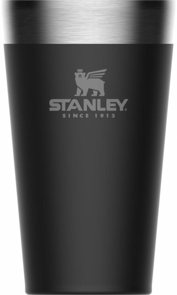 Kubek do piwa termiczny ADVENTURE -czarny 0.47L / Stanley