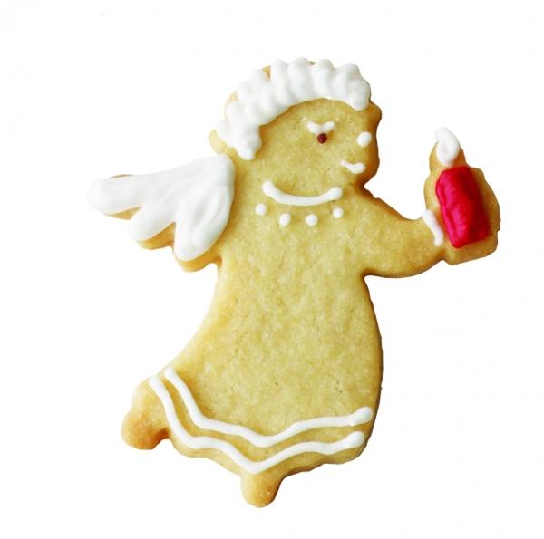 Foremka do wykrawania ciastek ANIOŁEK ZE ŚWIECZKĄ Birkmann