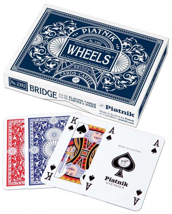 Karty podwójne Wheels