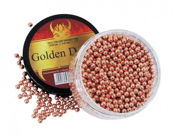 Śrut stalowy BB Golden Devils 4,5 mm 1500 szt.