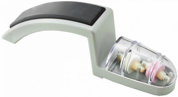 Ceramiczna ostrzałka wodna do noży Global 220 szaro-czarna MinoSharp