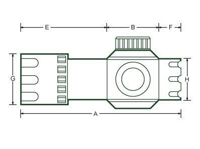 Kolimator Leapers UTG DS3039 3.9'' R/G 30 mm (weaver)