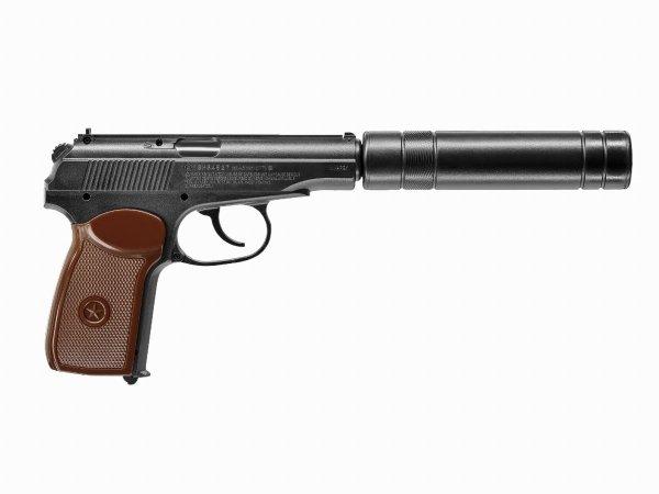 Pistolet wiatrówka Legends KGB 4,5 mm z tłumikiem