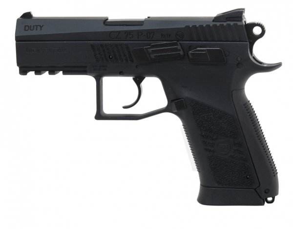 Wiatrówka CZ 75 P-07 Duty Blow Back 4,5 mm (16728)
