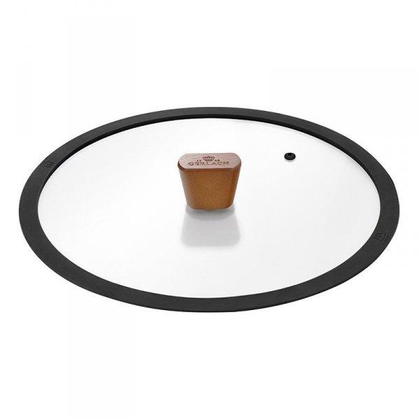 Gerlach Zestaw Patelni z powłoką ceramiczną Natur 24+28cm z pokrywkami