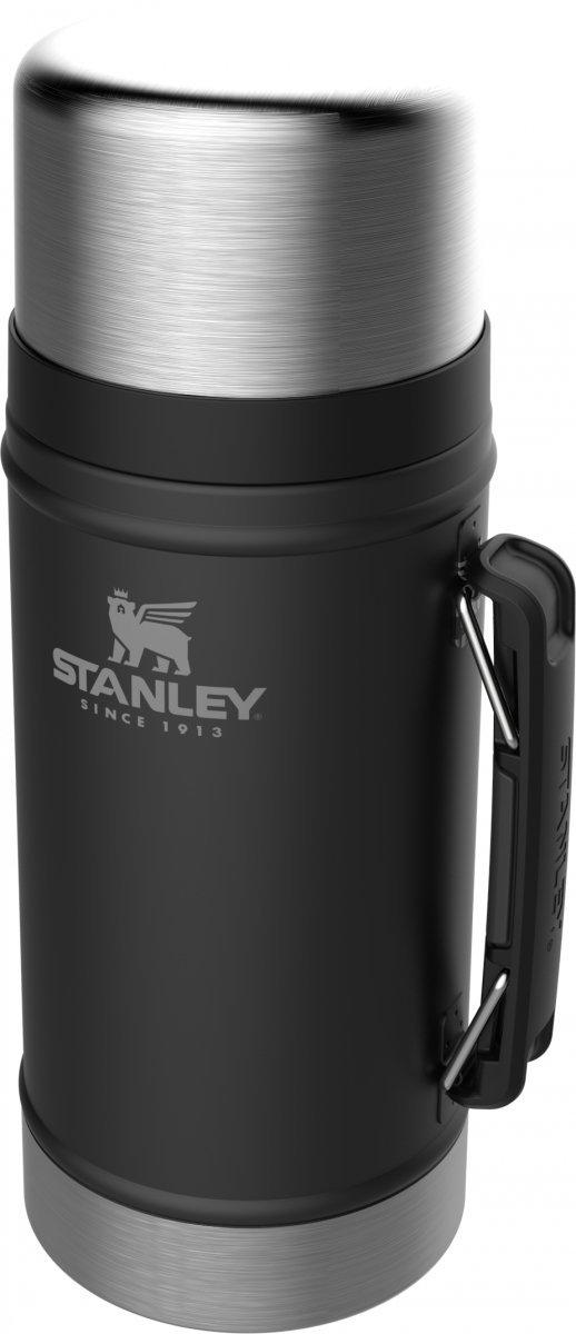 Termos obiadowy stalowy LEGENDARY CLASSIC - czarny 0.94L / Stanley