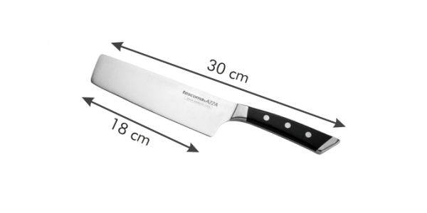 Nóż japoński AZZA NAKIRI 18 cm Tescoma