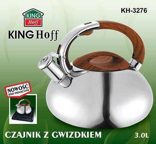 Czajnik Z Gwizdkiem 3.0 L Kh-3276
