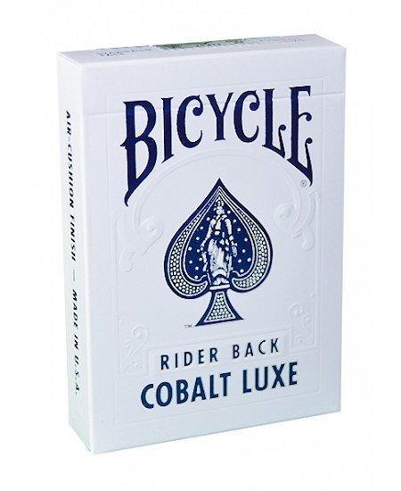 Karty Bicycle MetalLuxe Cobalt