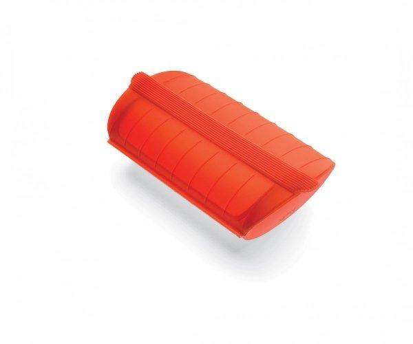 Naczynie żaroodporne małe - czerwone Lekue