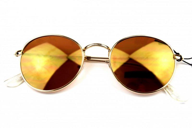 Lenonki -Okulary Przeciwsłoneczne - Brązowe
