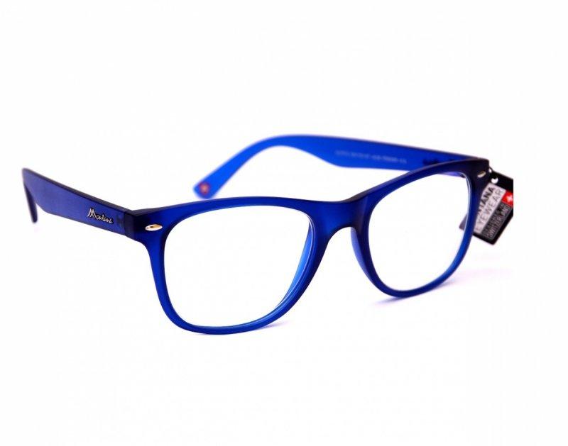 Clever +3,0  - Okulary Korekcyjne do pracy przy komputerze - Niebieskie