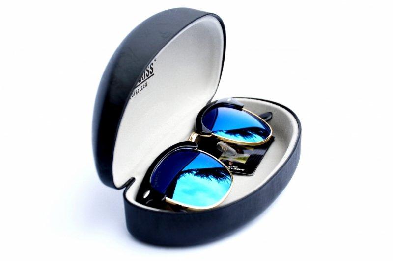 Masterclub - Okulary Polaryzacyjne - Niebieskie